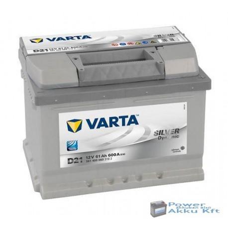 Varta Silver Dynamic 12V 63Ah 610A jobb + akkumulátor