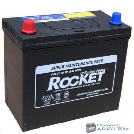 ROCKET 12V 45Ah 430A Ázsia Bal+ Akkumulátor