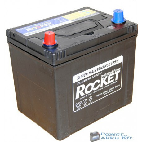 Rocket 12V 65Ah 580A Bal+ akkumulátor 75D23R