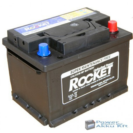 ROCKET 12V 54Ah 510A Jobb+ Akkumulátor SMF 55457