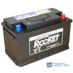 Rocket 12V 80Ah 700A jobb+ autó akkumulátor SMF 58014