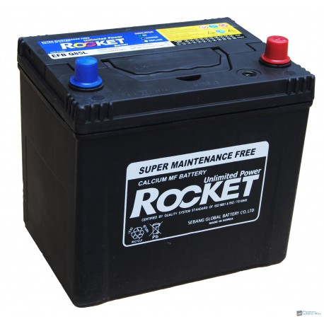 Rocket 12V 65Ah 600A Jobb+ akkumulátor EFB Q85L