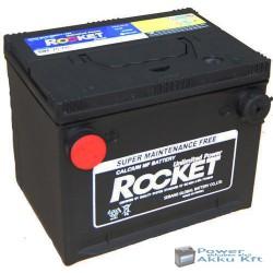Rocket 12V 66Ah 710A bal+ oldalcsatlakozós akkumulátor SMF 75-710