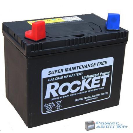 Rocket 12V 30Ah 330A bal+ akkumulátor SMF U1-330