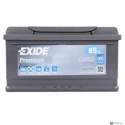 Exide Premium 12V 85Ah 800A jobb+ EA852 akkumulátor