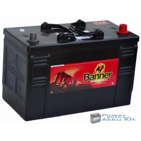 Banner Buffalo Bull 12V 110Ah 61047 jobb+ teherautó akkumulátor