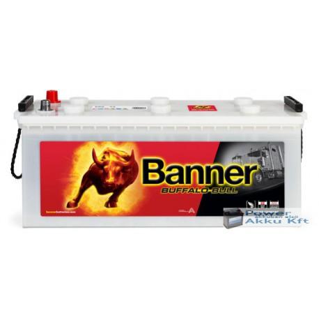 Banner Buffalo Bull 12V 150Ah 65001 Bal+ teherautó akkumulátor