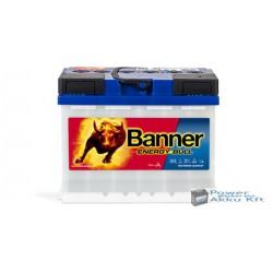 Banner Energy Bull 12V 60Ah Jobb+ 95501 munka akkumulátor