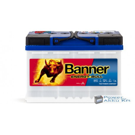 Banner Energy Bull 12V 80Ah Jobb+ 95601 munka akkumulátor