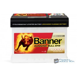 Banner Running Bull EFB 560 00 12 V 60Ah 560A jobb+ akkumulátor