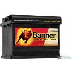 Banner Running Bull 570 01 AGM 12V 70Ah 720A jobb+ akkumulátor