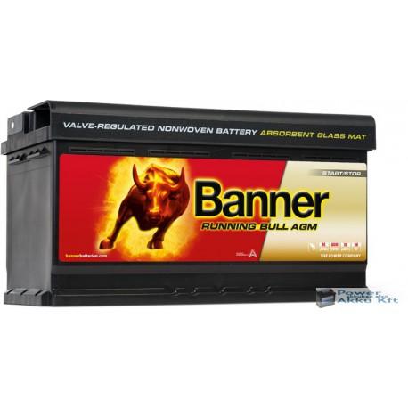 Banner Running Bull 560 01 12 V 60Ah 640A jobb+ akkumulátor
