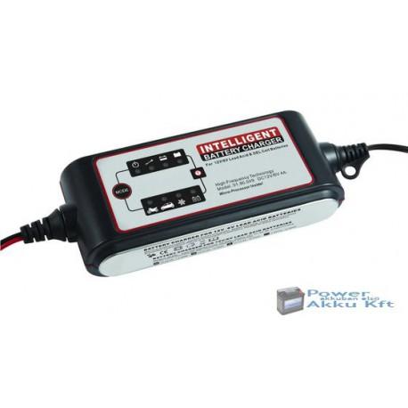 Carstel 12V 4A automata akkumulátor töltő T01.80.048