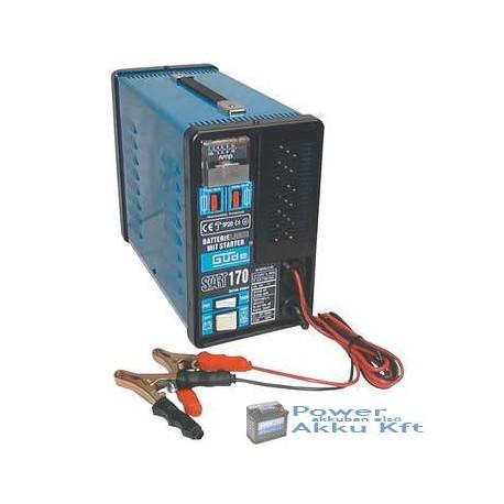 Güde Akkumulátortöltő 12V 18A START 170