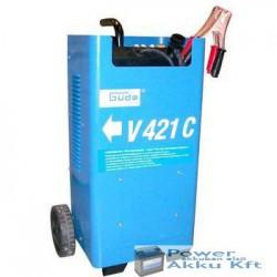 Güde Akkumulátortöltő 12V-24V 60A START390