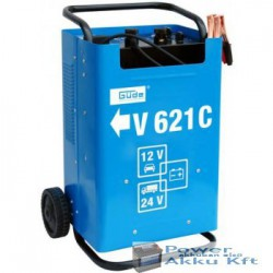 Güde Akkumulátortöltő 12V-24V 70A START500