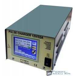 12V 32A automata akkumulátortöltő T1232TFT