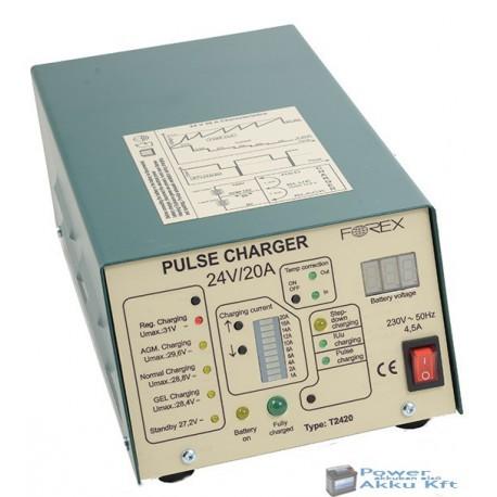 24V 20A automata akkumulátortöltő T2420