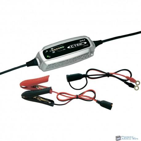 CTEK XS 0.8 motorkerékpár akkumulátor töltő/karbantartó