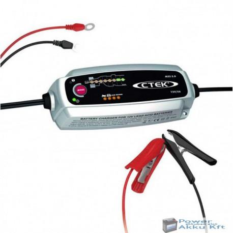 CTEK MXS 5.0 autó akkumulátor töltő és karbantartó