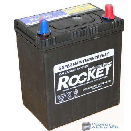 ROCKET 12V 40Ah Japán Jobb+ Akkumulátor