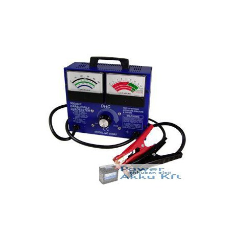 DHC 500A2 500A akkumulátor teszter