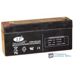 LP 6V 3,2 Ah akkumulátor