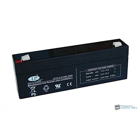 LP 12V 2.3Ah akkumulátor
