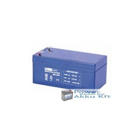 LP 12V 3.2Ah akkumulator