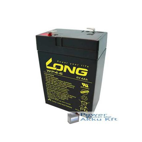 LONG 6V 4Ah akkumulátor