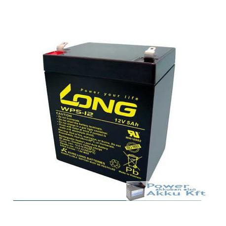 LONG 12V 5Ah akkumulátor