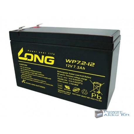 LONG 12V 7.2Ah akkumulátor