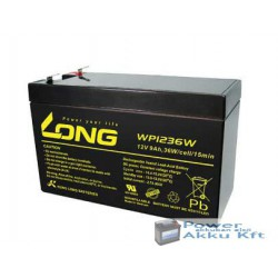 LONG 12V 9Ah 36W akkumulátor