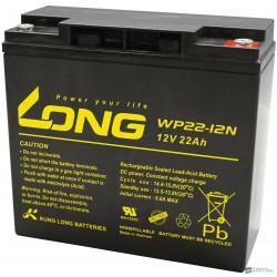 Long 12V 22Ah elektromos kerékpár akkumulátor WP22-12NE
