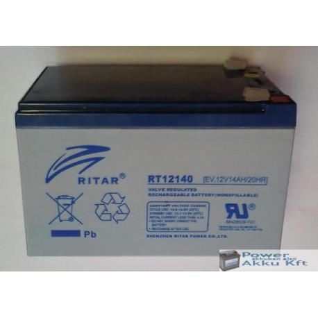 Ritar 12V 14Ah 20HR elektromos kerékpár akkumulátor