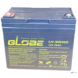 Globe 12V 36Ah U1-36NE ciklikus zselés kerekesszék akkumulátor