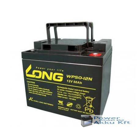 Globe 12V 50Ah WP50-12NE ciklikus zselés kerekesszék akkumulátor
