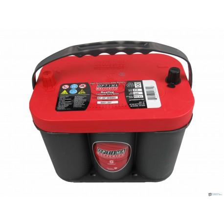 Optima Red Top 12v 50ah RT C - 4.2 bal+ akkumulátor