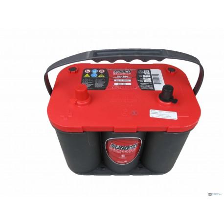 Optima Red Top RT S - 4.2 12v 50ah bal+ akkumulátor