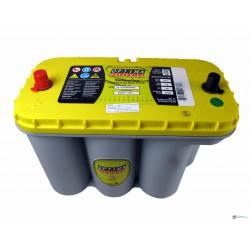 Optima Yellow 12v 75ah autó akkumulátor - közép YTS-5.5