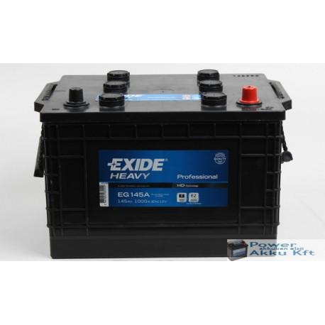Exide 12V 145Ah 1000A teherautó akkumulátor EG145A
