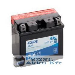 EXIDE ETZ7-BS 12V 6Ah 130A jobb+ motorkerékpár akkumulátor