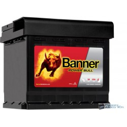 Banner Power Bull 12V 44Ah 420A Jobb+ akkumulátor