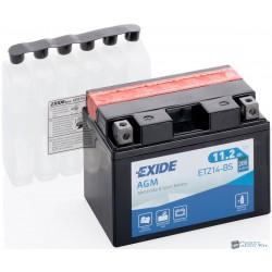 EXIDE ETZ14-BS 12V 11Ah 205A bal+ motorkerékpár akkumulátor
