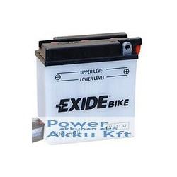 EXIDE E6N11A-1B 6V 11Ah 80A jobb+ motorkerékpár akkumulátor