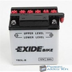EXIDE EB3L-B 12V 3Ah 25A jobb+ motorkerékpár akkumulátor
