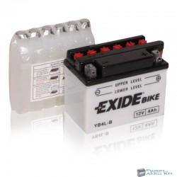 EXIDE EB4L-B 12V 4Ah 50A jobb+ motorkerékpár akkumulátor