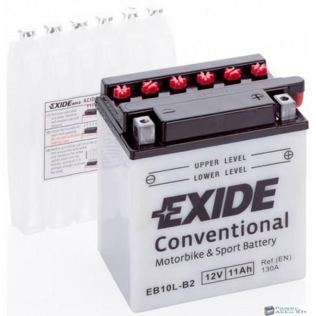 EXIDE EB10L-B 12V 11Ah 160A jobb+ motorkerékpár akkumulátor