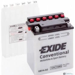 EXIDE EB14-A2 12V 14Ah 145A bal+ motorkerékpár akkumulátor