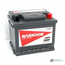 HANKOOK 12V 45Ah 450A Jobb+ akkumulátor